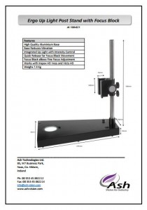 Ergo Up Light Post Stand