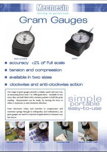 gram gauges