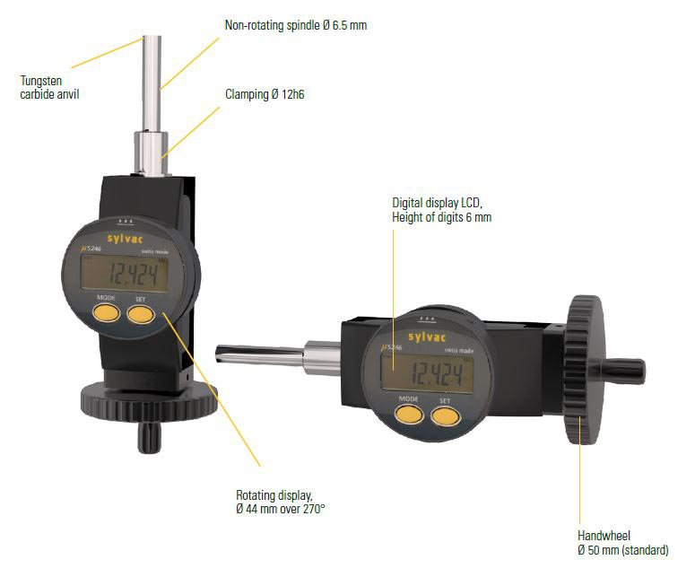 Digital micrometer screws Image