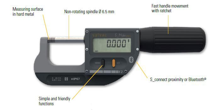 Professional micrometer S_Mike PRO Image