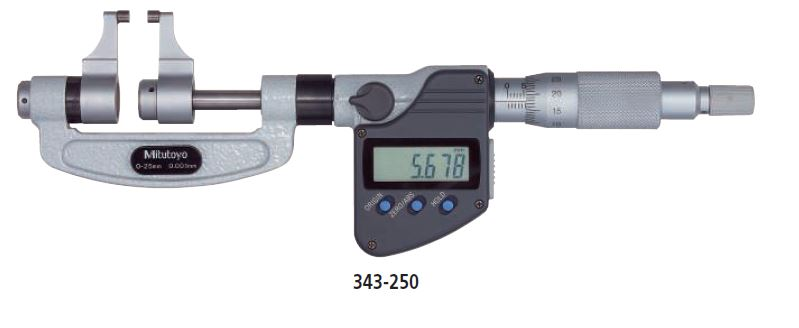 Digimatic Caliper Jaw Micrometer series 343 Image