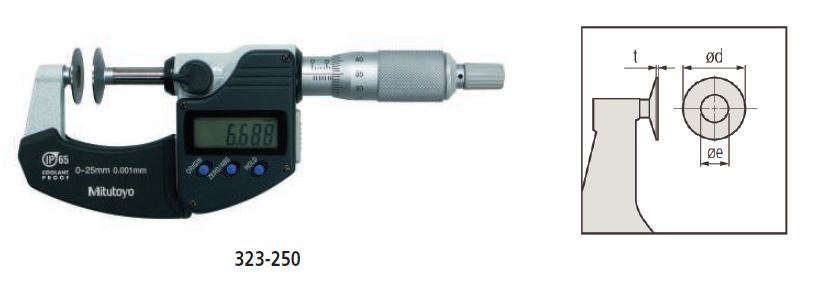 Digimatic Disc Micrometer series 323 Image
