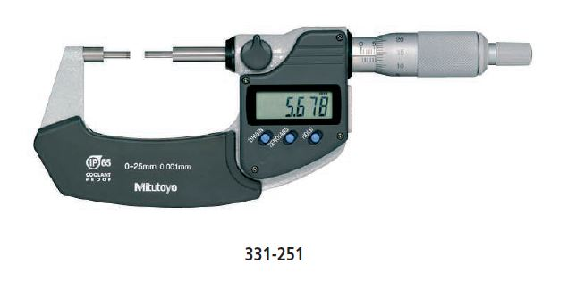 Digimatic Spline Micrometer series 331 Image