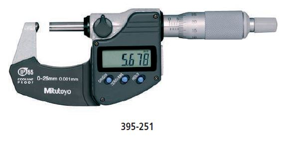 Digimatic Tube Micrometer series 395 Image
