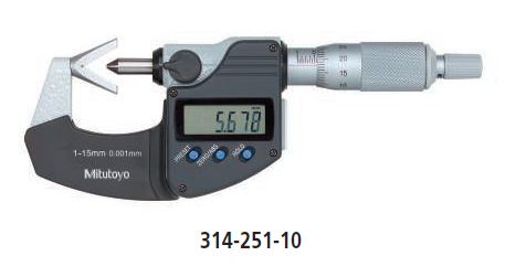 Digimatic V-Anvil Micrometer series 314 Image