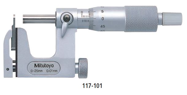 Micrometer Interchangeable Anvil Type series 117 Image