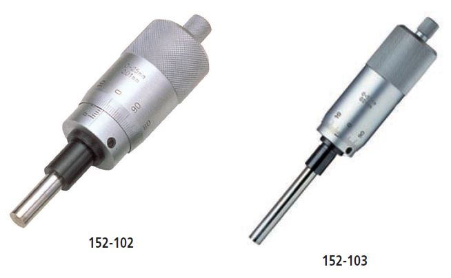Quick Spindle Feed Micrometer Head series 152 - Quick spindle feed of 1/rev Image