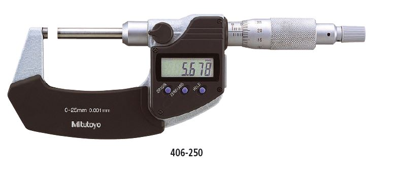 Outside Micrometer Non-Rotating Spindle Type Series 293 Image