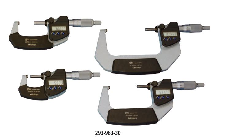 Digimatic Micrometer IP65 Metric Series 293 - set Image